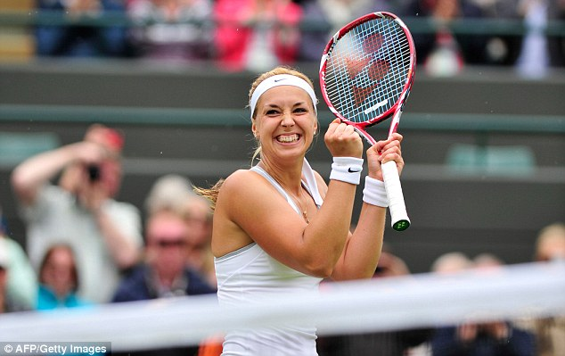New boundaries: Sabine Lisicki is aiming to reach her first grand slam final