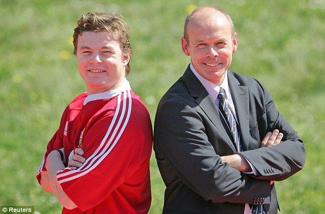 Natural leader: Sir Clive named O'Driscoll as his Lions captain for the tour to New Zealand in 2005