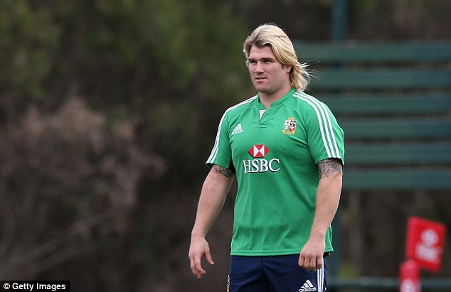 British beef: Richard Hibbard has been brought in to shore up the scrum but his line-out throwing is suspect