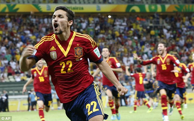 Join the club: Manchester City have already signed Jesus Navas from Sevilla this summer