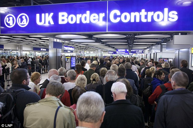Pressure: The Home Office recently split the UK Border Agency into two new departments including immigration enforcement