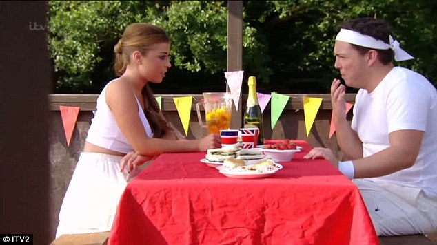 On or off? Abi and Diags also discussed their relationship status, with Abi seeming to be keen to make things official between them