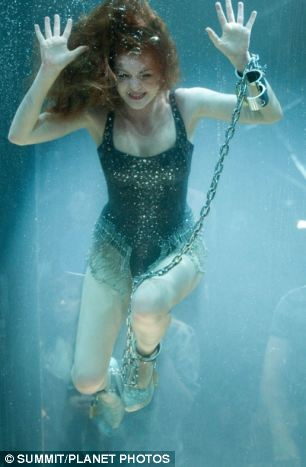Escapism: Isla Fisher plays a Harriet Houdini in the magical quartet