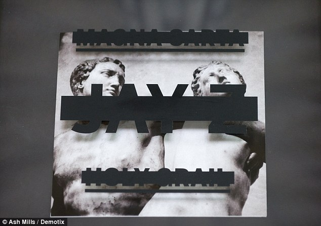 Artwork: The cover of Jay-Z's new album features the Salisbury Cathedrals Chapter House, home to its original copy of Magna Carta 1215