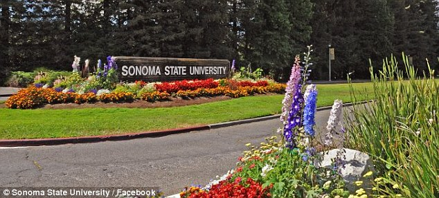 A spokesman for Sonoma State University says the supervisor was wrong to ask Miss Jarvis to remove her cross
