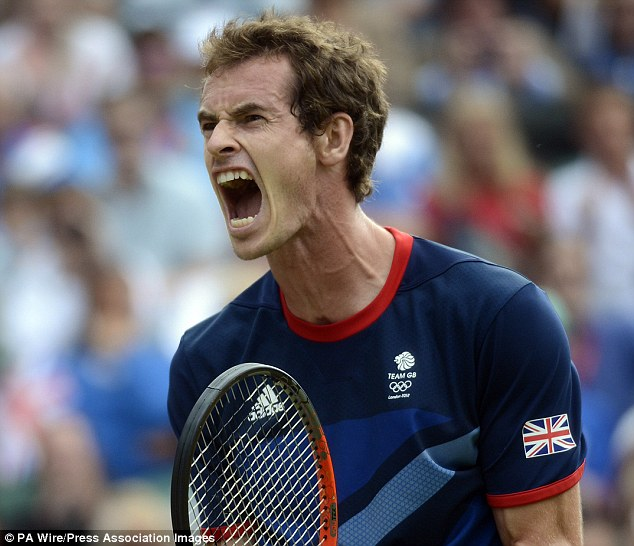 Olympian: But recognition of Andy Murray's gold medal last summer is proving problematic