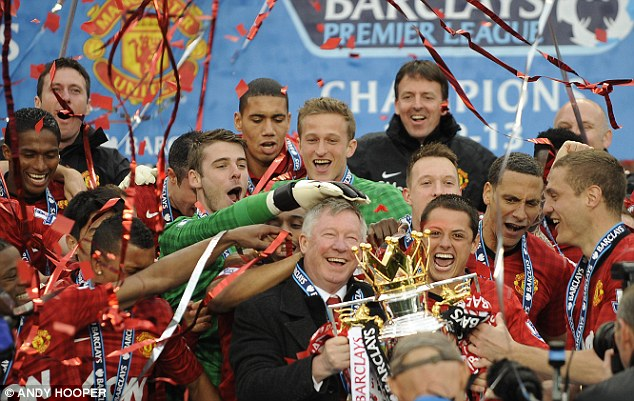 Following in his footsteps: Moyes has big shoes to fill taking over the job from Sir Alex Ferguson