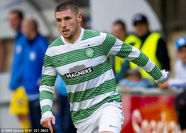 On his way? Hooper (above) has played in Celtic's pre-season friendlies but is attracting interest from England
