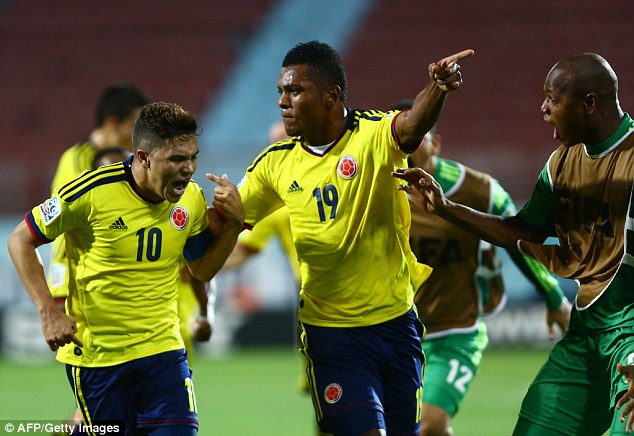 Missing out: Juan Quintero (left) is likely to head to Porto this summer