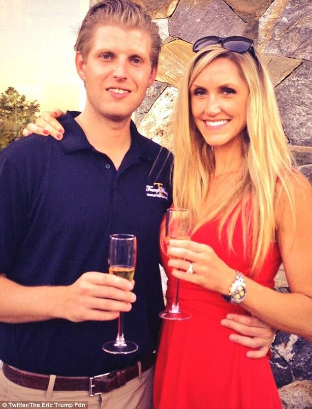 Set to wed: Eric, 30, proposed to girlfriend of five years Lara Yunaska, last year