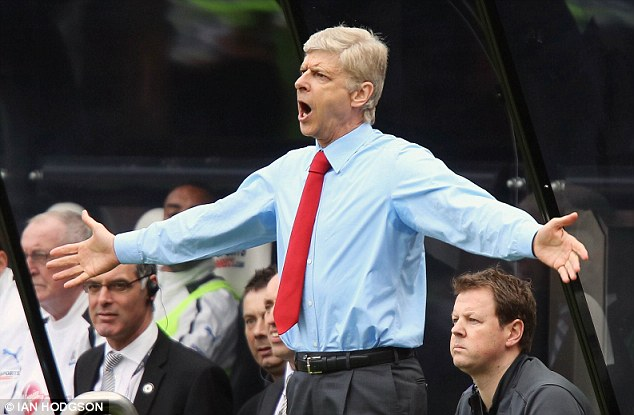 Get going: It is thought Wenger has deep pockets this summer to push for the title