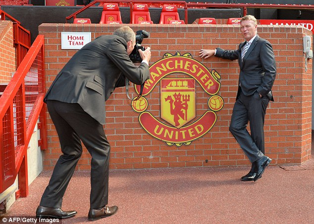 Welcome on board: David Moyes has held his first press conference as Manchester United manager