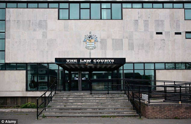 Keisis pleaded guilty at Worthing Magistrates' Court (above) to driving without a licence