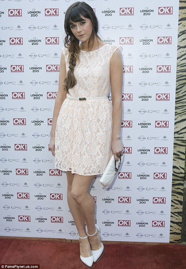 Lilah at the OK! Tigers & Tiaras Summer Ball, held at the London Zoo in London, UK on June 25