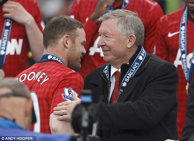 Not privy: Whatever tension existed between Rooney and Ferguson was private and will not affect his future