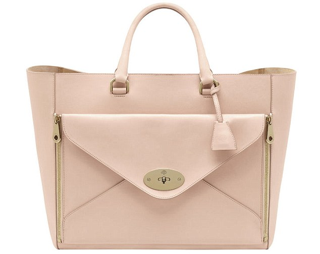 The bag: Mulberry Willow Tote, £1,500