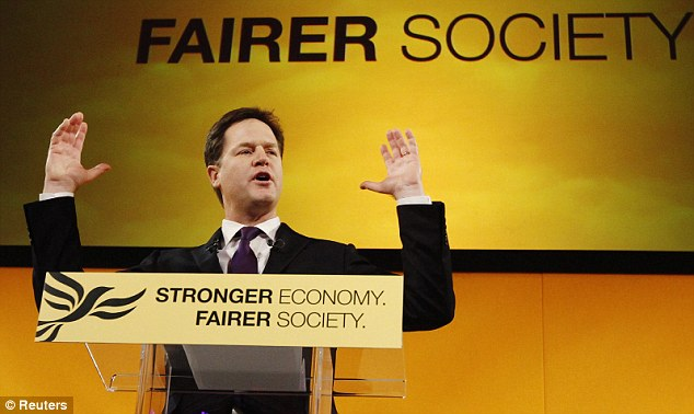 Nick Clegg is utterly wrong to claim that an injustice would be created by such tax breaks worth up to £200 a year. In truth, this would be a small compensation for the way that our tax system penalises married couples