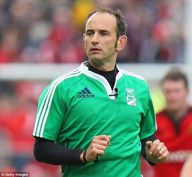 Man in the middle: The Lions will welcome the appointment of Romain Poite