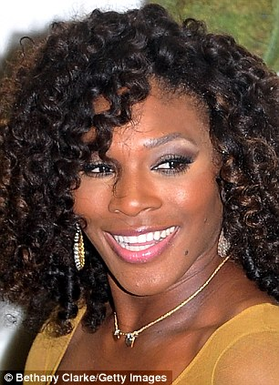 Five times Wimbledon Ladies Champion Serena Williams