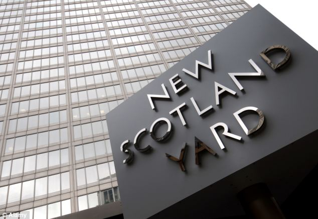 On the case: Scotland Yard has launched its own inquiry
