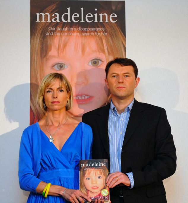 Kate and Gerry McCann marking the fourth anniversary of Madeleine's disappearance