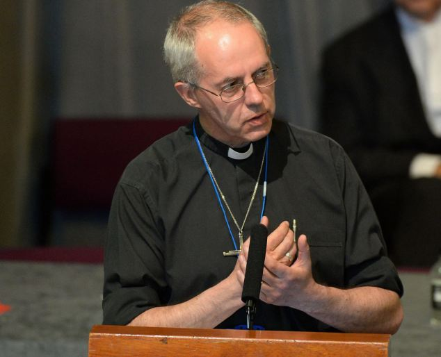Archbishop Justin Welby made his first Presidential Address to the General Synod today