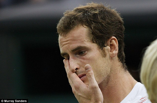Personal side: Losing to Roger Federer in the 2012 Wimbledon final provoked so many emotions