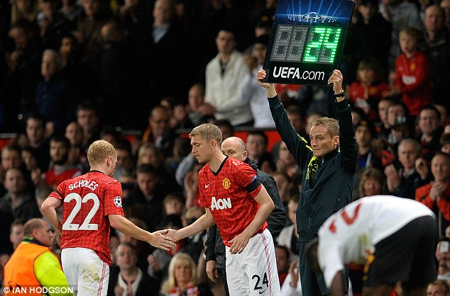 Another option: With Paul Scholes' retirement, David Moyes will want Fletcher to be back fit