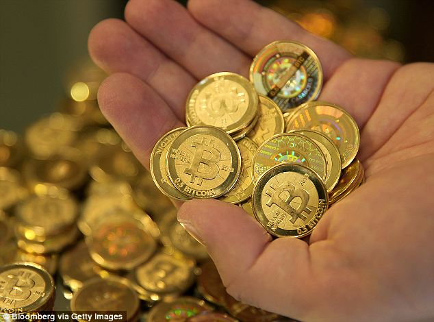 Chomping at the bitcoin: Bitcoins are a virtual currency that are difficult to track and the fact some were seized by the government led many who follow the novel money to wonder how they did it