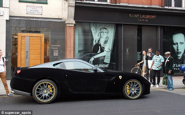 Ramadan racer: This Ferrari is bound to grab attention with its velvet-covered roof