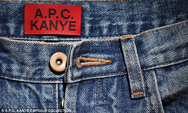Kanye West collaborates with A.P.C.