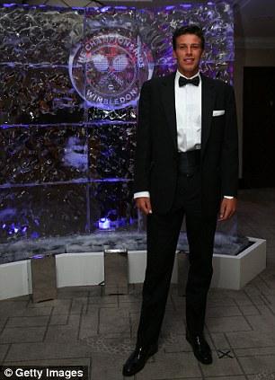 Boys' Singles Champion Gianluigi Quinzi