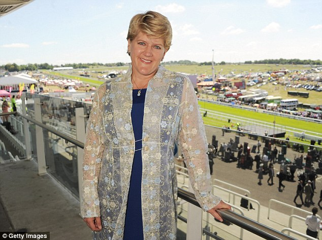 Jibe: TV presenter Clare Balding was the subject of an 'inappropriate' item on Murray's Fighting Talk show