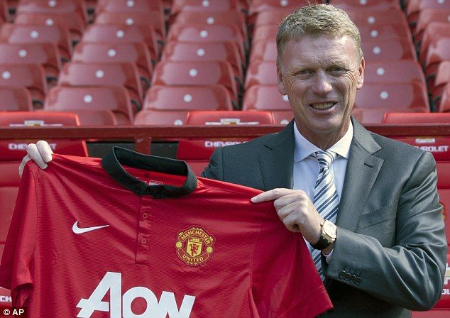 Dressed for success: Moyes insists the expectation for honours will spur him on in his first season