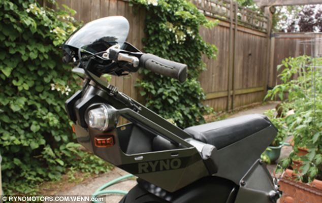 The RYNO is classified in the same group as mobility scooters. This means it can be driven in pedestrianised areas and inside buildings.