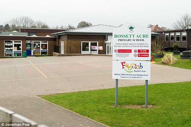 'Crackers': Rossett Acre Primary School in Harrogate is encouraging parents to send their daughters in wearing tracksuit bottoms