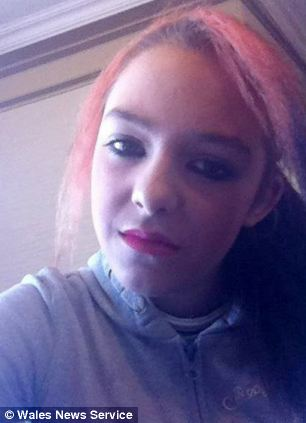 Hollie McClymont, 14, is feared drowned after getting into difficulty while swimming off Barry Island in South Wales