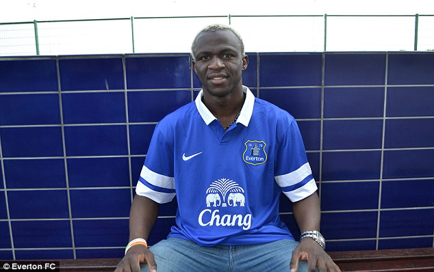 One of the Wigan lot: Arouna Kone was signed well before the madness of deadline day