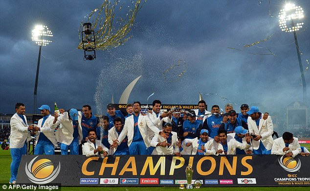 World of difference: India won the Champions Trophy but are they really the second best Test side on the planet?