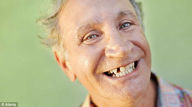 Not so toothsome: If your parents have lots of fillings or false teeth, it's likely you will too