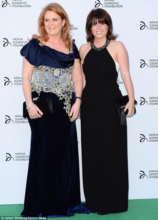 A royally good event! The inaugural foundation event was even given the royal seal of approval with Sarah Ferguson and her daughter, Princess Eugenie, putting in an appearance