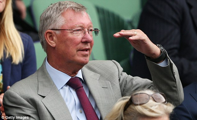 Scots united: Sir Alex Ferguson is a keen supporter of Murray