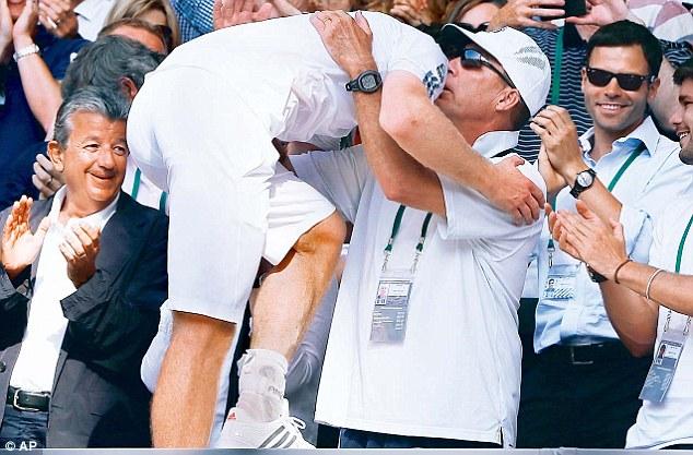 Team Murray: The British No 1 lauded the impact of Ivan Lendl
