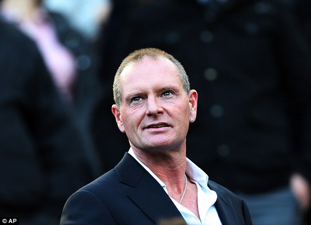 Gazza: The retired England star was 'extremely drunk' when he collapsed
