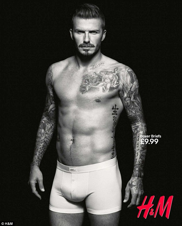 Got the okay: David Beckham's revealing underwear ads for H&M in 2012 passed the test in LA and were plastered on billboards around town