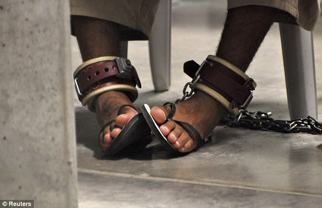 Recurring procedure: Forty five of those inmates have been ordered to undergo force-feeding