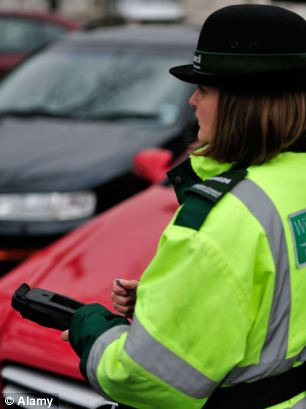 Parking wardens could be dishing out higher fines after Transport Secretary Norman Baker said the current price may not be enough of a 'deterrent'