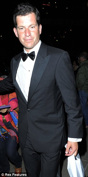 Rallying well: former Wimbledon semi-finalist Tim Henman looked very smart for the function