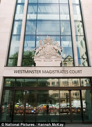 Westminster Magistrates' Court pictured last week