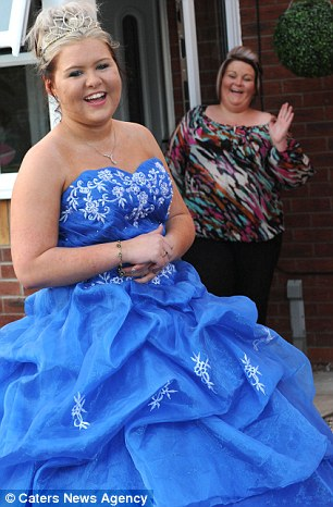 Ms Harker said she and her daughter had been 'counting down' to the prom